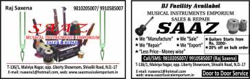SAAZ MUSICAL INSTRUMENTS EMPORIUM