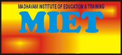 Madhavam institute Of Education & Training