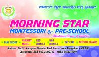 Morning Star Montessori & Pre-school
