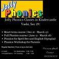 Jolly Phonics Classes