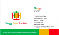 Shaggy Event Specialist