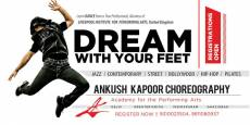 Ankush Kapoor Choreography Academy for performing arts