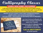 Manasi Calligraphy Classes