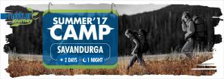Nature Journey night summer camp at Savanadurga in Sarjapur